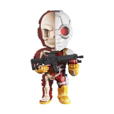 4D Master 4D XXRAY Dissected Vinyl Art Figure - DCJustice League Comics: Deadshot