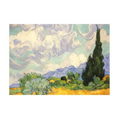 Piatnik Vincent Van Gogh - Wheat Field with Cypresses: 1000 Pcs