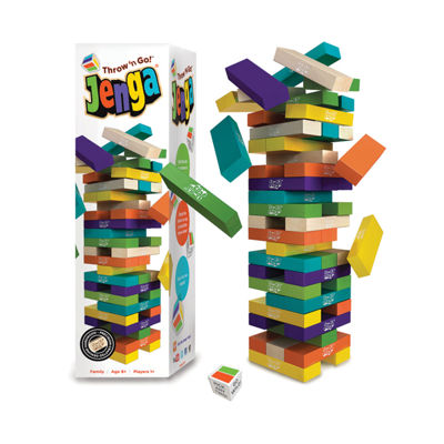 Jenga Jenga Throw 'n Go!