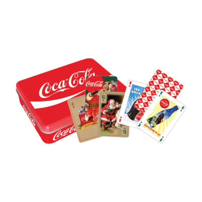 Aquarius Coca-Cola - Red Special Edition Playing Card Set in a Tin