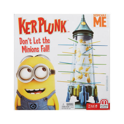 Mattel Despicable Me Minion Made Kerplunk - Don'tLet the Minions Fall!