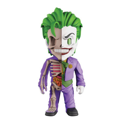 4D Master 4D XXRAY Dissected Vinyl Art Figure - DCJustice League Comics: The Joker