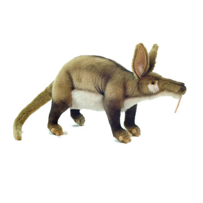 "Hansa Adult Aardvark 21"" Plush Toy"""