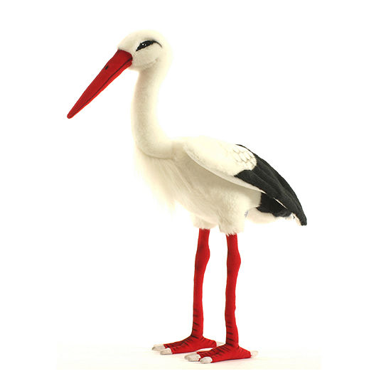 Hansa Plush Adult Stork: 17 Inches