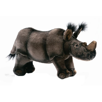 "Hansa African Rhino 12"" Plush Toy"""