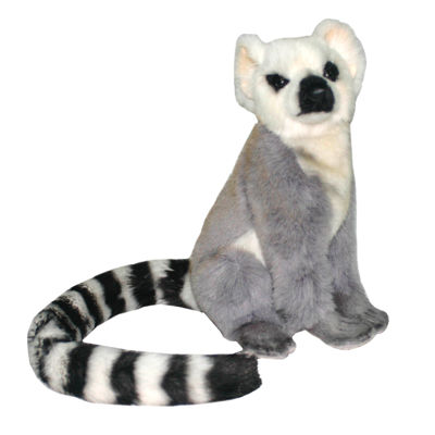 "Hansa Armature Lemur 9"" Plush Toy"""
