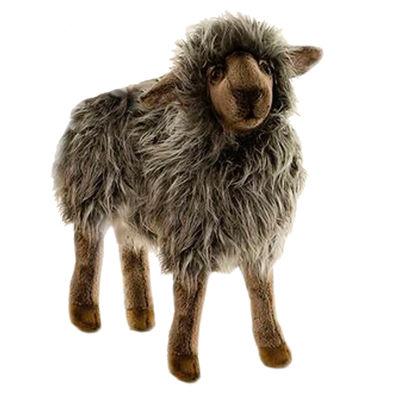 """Hansa Black Mama Sheep 14"""" Plush Toy"""""""