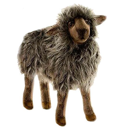 Hansa Plush Black Mama Sheep: 14 Inches
