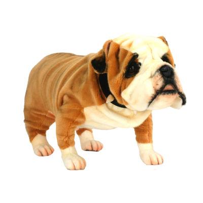 """Hansa British Bulldog 30"""" Plush Toy"""""""