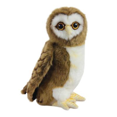 """Hansa Brown Owl 9"""" Plush Toy"""""""