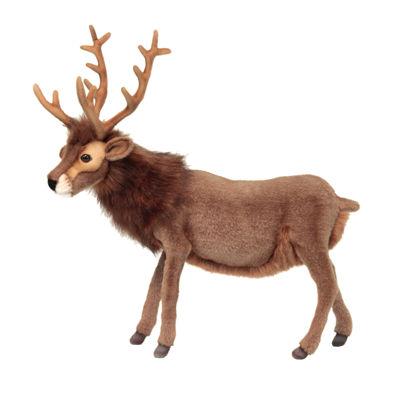 """Hansa Brown Reindeer 20"""" Plush Toy"""""""