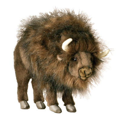 "Hansa Buffalo 14"" Plush Toy"""