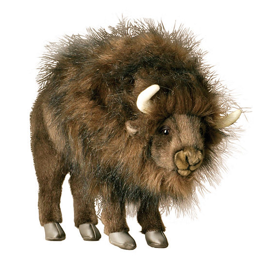 Hansa Plush Buffalo: 14 Inches