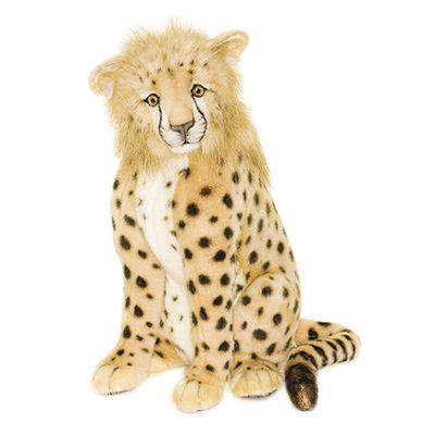 "Hansa Cheetah 17"" Plush Toy"""