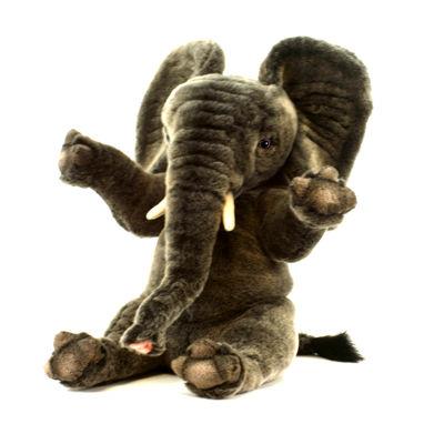 "Hansa Elephant 13"" Plush Toy"""