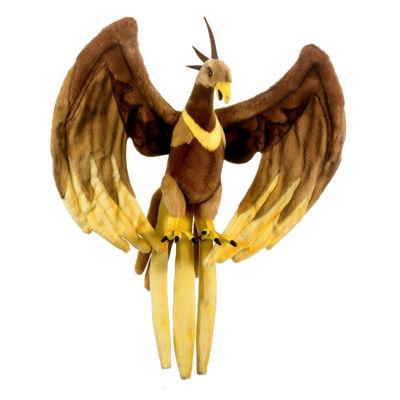 "Hansa Fire Bird Phoenix 16"" Plush Toy"""