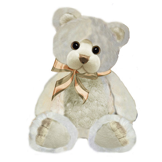 "First and Main - 10"" Ivory Arianna Bear"