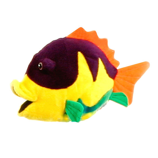 "Hansa Number 2 12""  Fish Plush"
