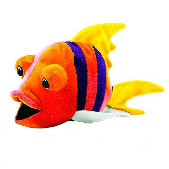 Hansa Plush Fish Number 4: 10 Inches