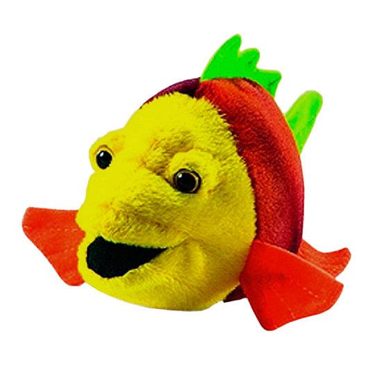 Hansa Plush Fish Number 7: 6 Inches