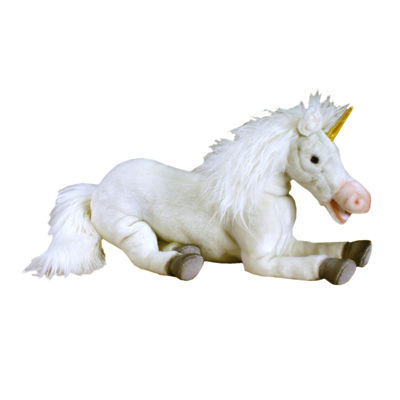 "Hansa Floppy Unicorn 17"" Plush Toy"