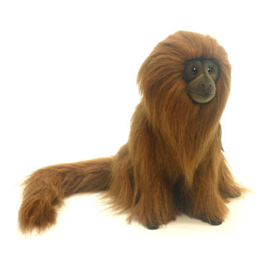 "Hansa Golden Lion Tamarn 12"" Plush Toy"""