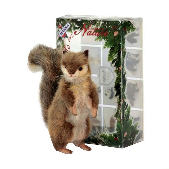 Hansa Gray Squirrel 6 Plush Toy