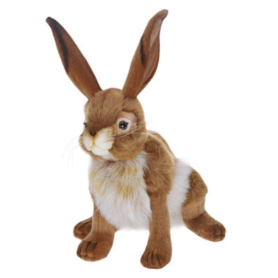 "Hansa 12"" Blacktail Jack Rabbit Plush Toy"