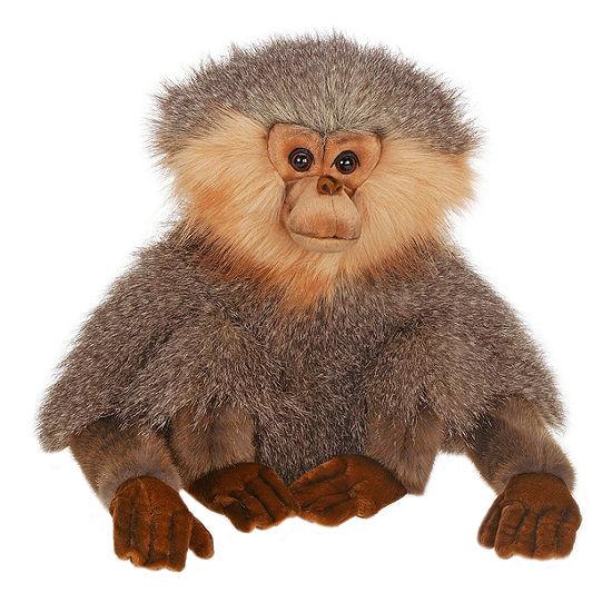 "Hansa 12"" Seated Gibbon Plush Toy"""