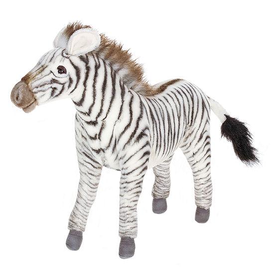 """Hansa 14"""" Grevy's Zebra Plush Toy"""""""