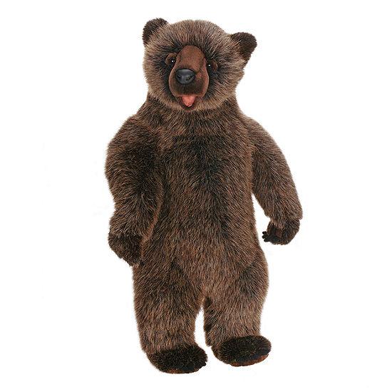 """Hansa 20"""" Bobo Grizzly Bear Plush Toy"""