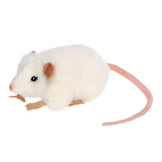 Hansa 5 Inch White Mouse