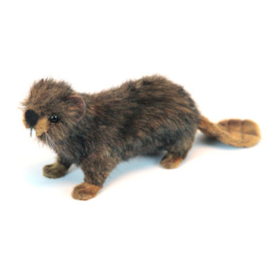 "Hansa 6"" Beaver Plush Toy"