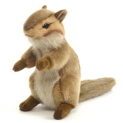 "Hansa 6"" Upright Chipmunk Plush Toy"""