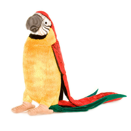 "Hansa 7"" Parrot Plush Toy"""