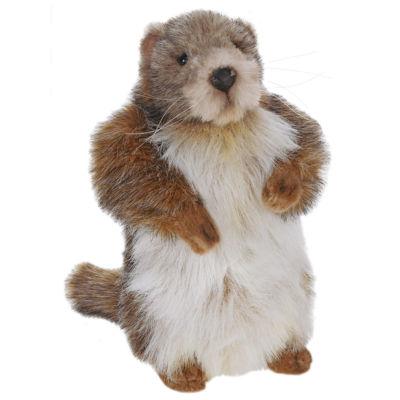 "Hansa 9"" Baby Marmot (Groundhog) Plush Toy"