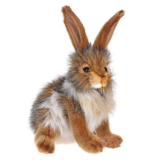 """Hansa 9"""" Bunny Rabbit Plush Toy"""