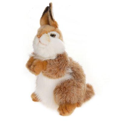 """Hansa 12"""" Baby Bunny Carmel"""""""
