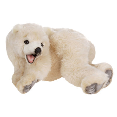 Hansa Baby Polar Bear Plush Toy