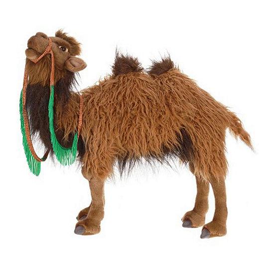 Hansa Bactrian 2 Hump Camel Plush Toy