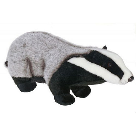 Hansa Badger Plush Toy