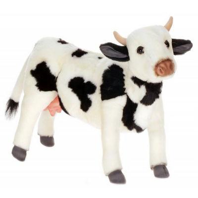 Hansa Black and White Cow Plush Toy
