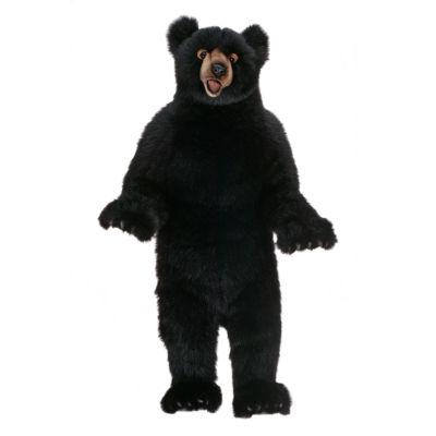 "Hansa Black Bear Fritz 44"" Plush Toy"""