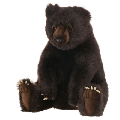 "Hansa Brown Bear 24"" Plush Toy"""