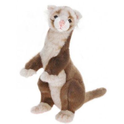 Hansa Brown Ferret Plush Toy