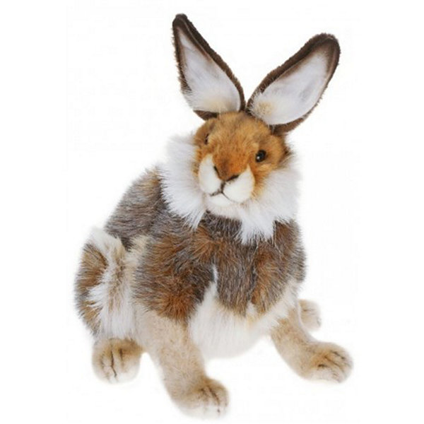 Hansa Brown Hare Plush Toy