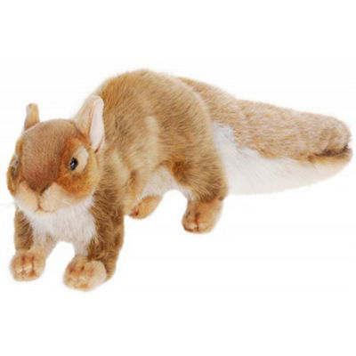 Hansa Brown Squirrel Plush Toy
