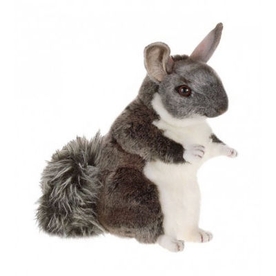 Hansa Chauncey Chinchilla Plush Toy