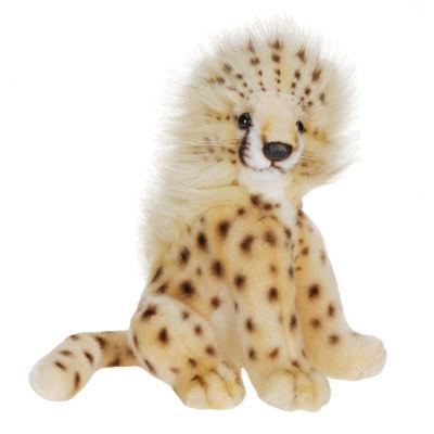 """Hansa Cheetah Cub 8"""" Plush Toy"""""""