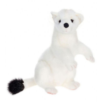 Hansa Ermine Plush Toy